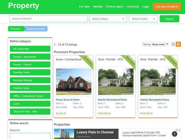Property- Real Estate Theme - 1