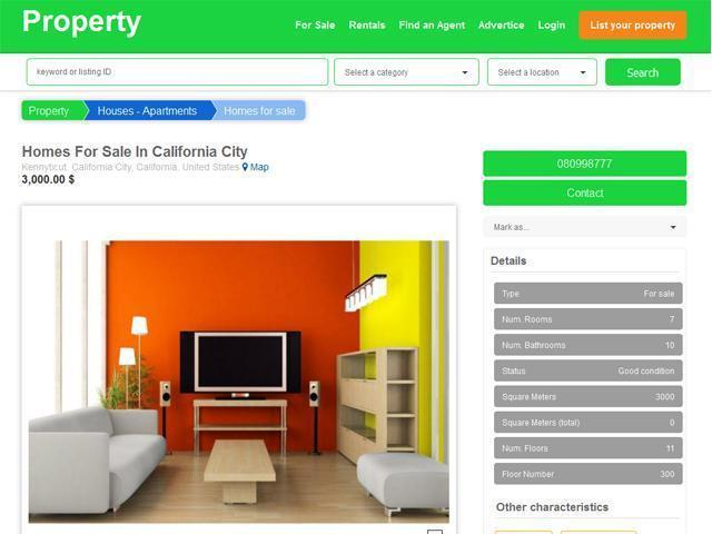 Property- Real Estate Theme - 2