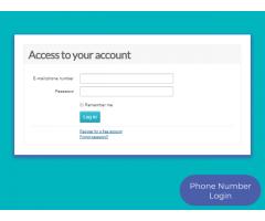 osclasscommunity.com - Phone Number Login - Image 2